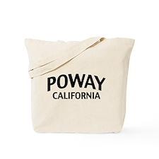 Poway California Tote Bag