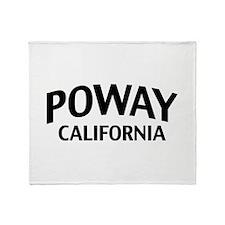 Poway California Throw Blanket