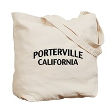Porterville California Tote Bag