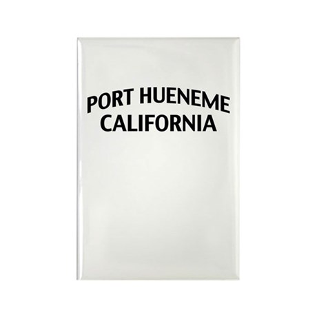 Port Hueneme California Rectangle Magnet