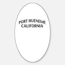 Port Hueneme California Decal