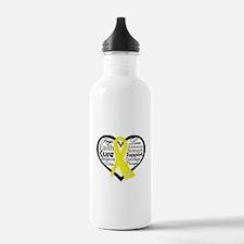Ewing Sarcoma Water Bottle