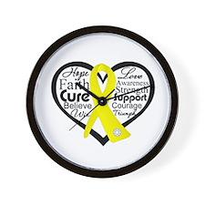 Ewing Sarcoma Wall Clock