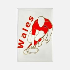Wales Rugby Designed Rectangle Magnet (10 pack)