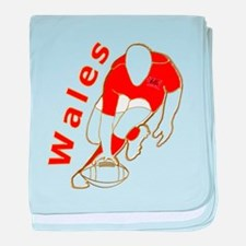 Wales Rugby Designed baby blanket