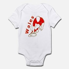 Wales Rugby Designed Infant Bodysuit