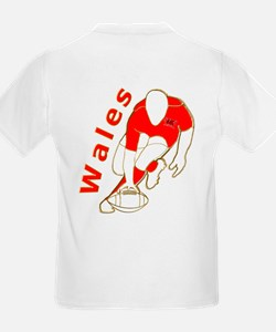 Wales Rugby Designed T-Shirt