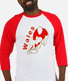 Wales Rugby Designed Baseball Jersey