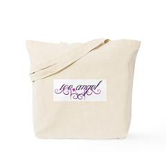 Ice Angel Tote Bag