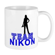 10x10_apparel.TEAM NIKON copy Mugs
