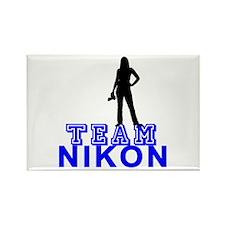 Team Nikon Rectangle Magnet
