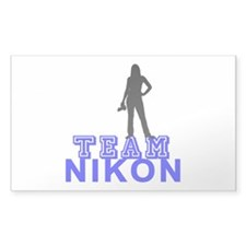 Team Nikon Decal