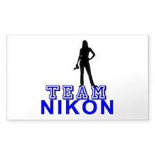 Team Nikon Decal