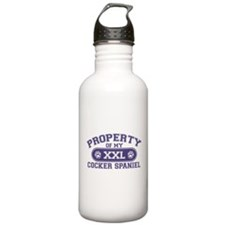 Cocker Spaniel PROPERTY Water Bottle