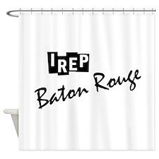 I rep Atlanta Shower Curtain
