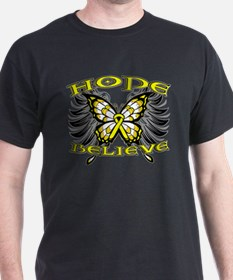 Hope Believe Ewing Sarcoma T-Shirt