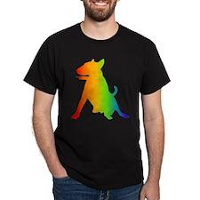 Bull Terrier Black T-Shirt