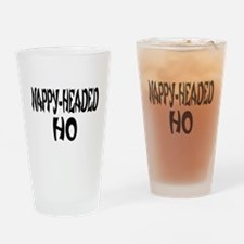 Nappy Headed Ho French Design Drinking Glass