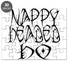 Nappy Headed Ho Tribal Design Puzzle