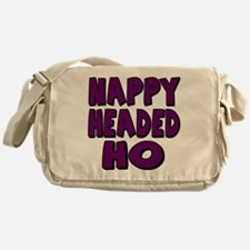Nappy Headed Ho Purple Design Messenger Bag