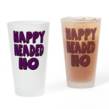 Nappy Headed Ho Purple Design Drinking Glass