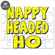 Nappy Headed Ho Yellow Design Puzzle