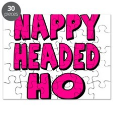 Nappy Headed Ho Pink Design Puzzle