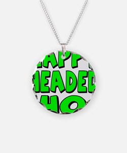 Nappy Headed Ho Green Design Necklace