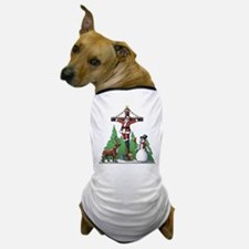 Santa Cross Dog T-Shirt