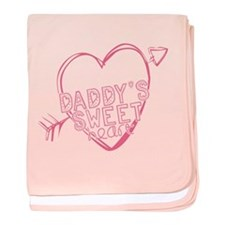 Daddy's Sweet Heart baby blanket