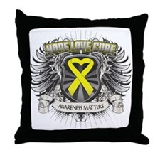 Ewing Sarcoma Throw Pillow