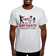 Zombie Apocalypse Waiting T-Shirt