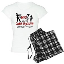 Zombie Apocalypse Waiting Pajamas