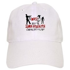 Zombie Apocalypse Waiting Baseball Cap