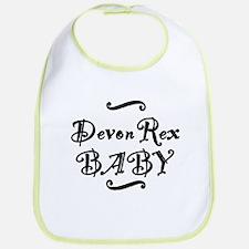 Devon Rex BABY Bib