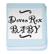 Devon Rex BABY baby blanket