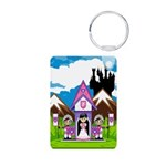 Princess & Heart Knights Photo Keychain