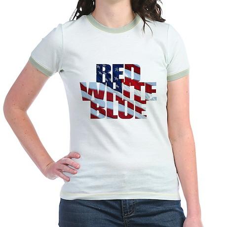 Flag colors Jr. Ringer T-Shirt