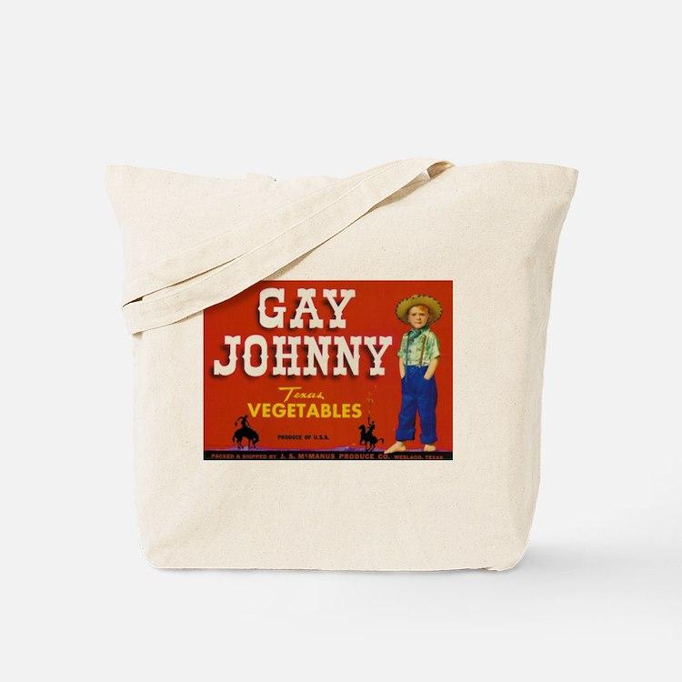 Gay Johnny Tote Bag