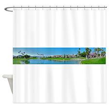 Lake Palm Royale Shower Curtain