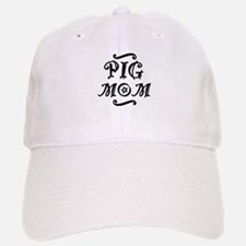 Pig MOM Baseball Baseball Cap