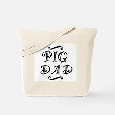 Pig DAD Tote Bag