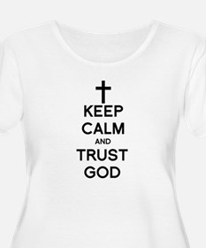 Cute Keep calm and pray T-Shirt