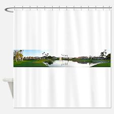 Scarlet Lake Shower Curtain