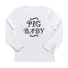 Pig BABY Long Sleeve Infant T-Shirt