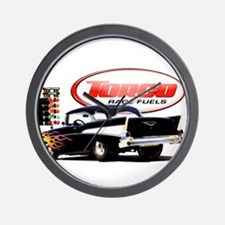 57 Chevy Dragster Wall Clock