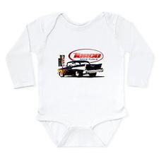 57 Chevy Dragster Long Sleeve Infant Bodysuit