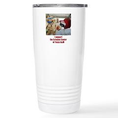 support the Schubot Center Travel Mug