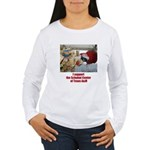 support the Schubot Center Women's Long Sleeve T-S