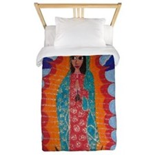 Our Lady of Guadalupe Twin Duvet